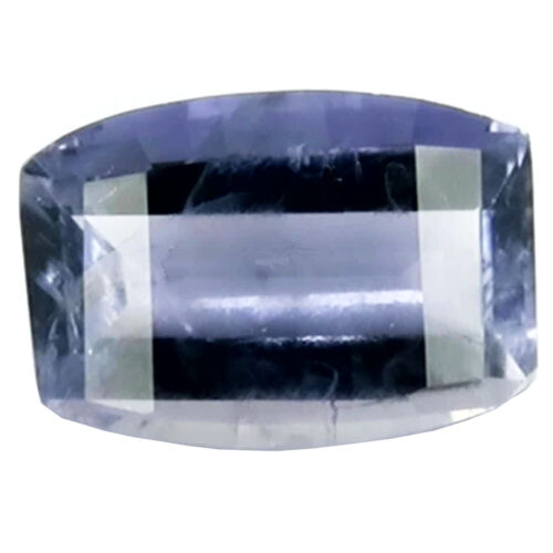 Iolite 1.29ct checker cut violet blue color 100% natural earth mined from India