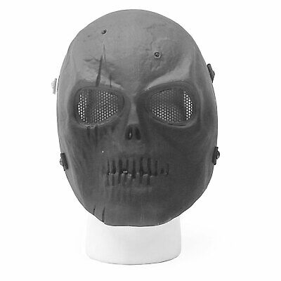 Airsoft Mask Face Black Skull Ghost Recon Tactical Protective Halloween - Ghost Recon Halloween Costume