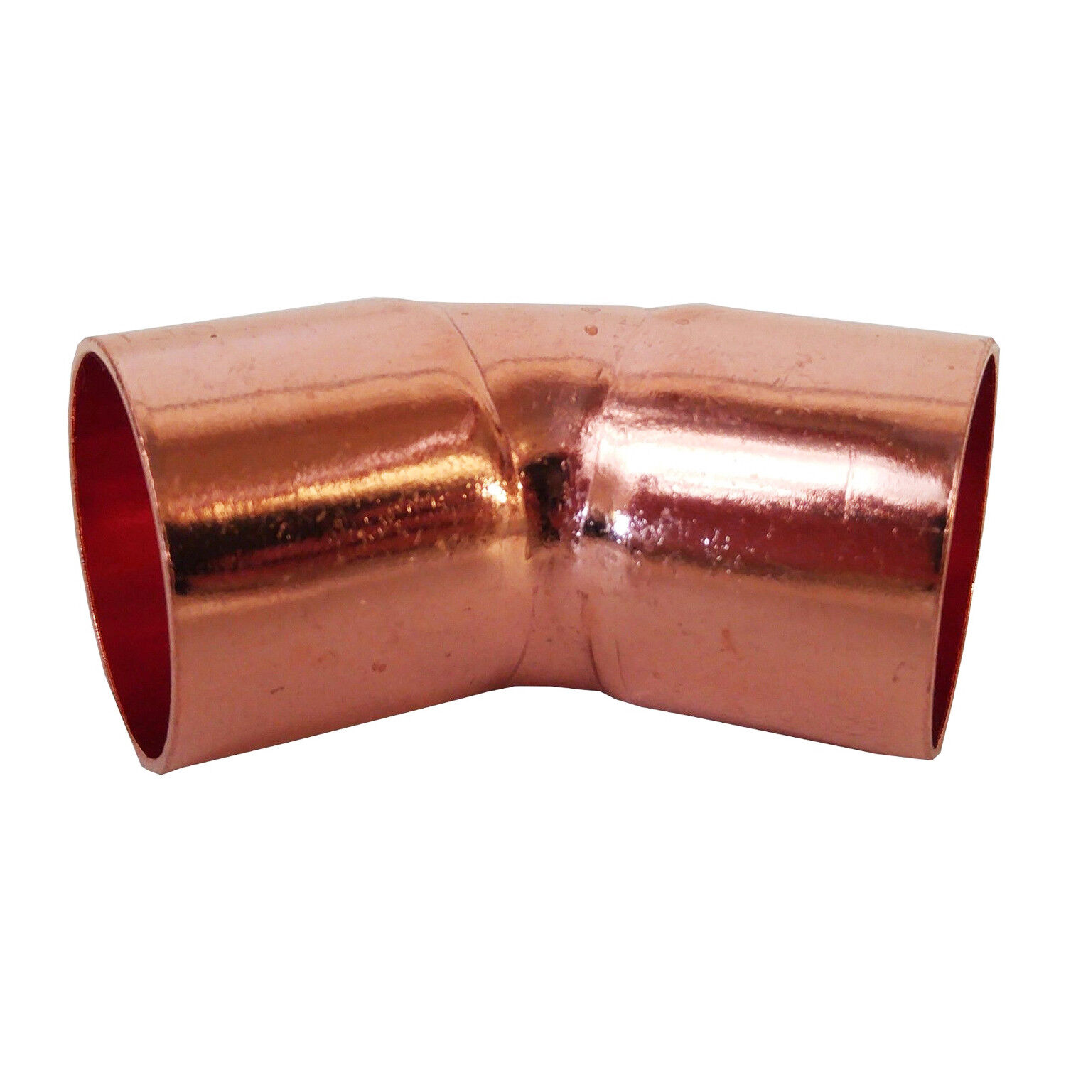 2 Quot 45 Degrees Elbow C X C Copper Pipe Fitting Ebay