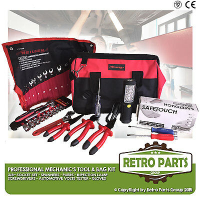 Apprentice Mechanic Starter Tool Box Kit Set With Carry Bag For Car Van Repair