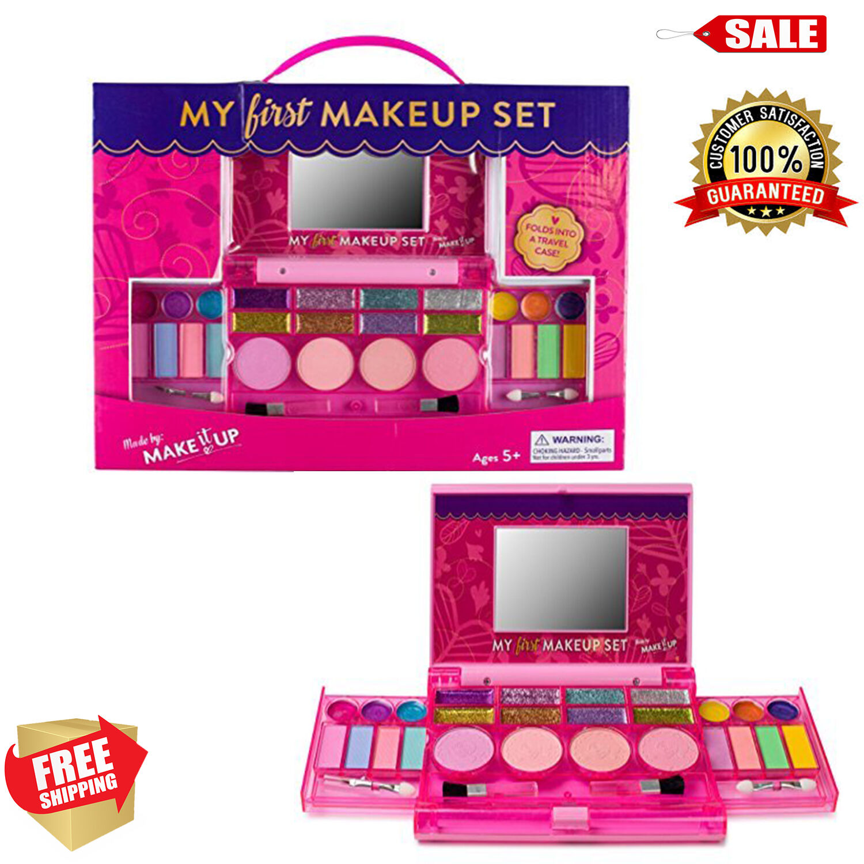 Kids&Little Girls Princess Makeup Set Kit Fold Out BEAUTIFUL