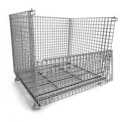 Large Metal Wire Container - Keep Your Supplies Organized