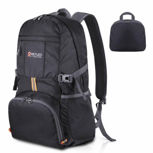 REYLEO Back to School Deal 35L Packable Lightweight Backpack Hiking Daypack Fold