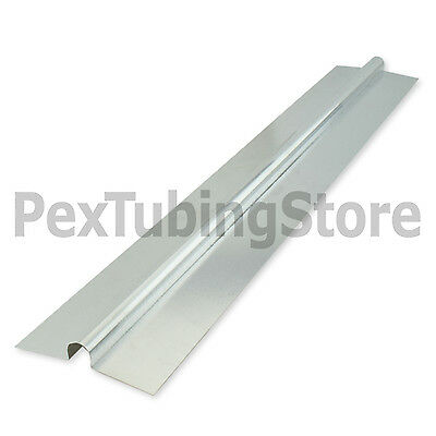 100 2ft Aluminum Radiant Floor Heat Transfer Plates For 12 Pex Tubing