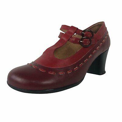 John Fluevog cherry red Brightman leather shoes - sz 9.5