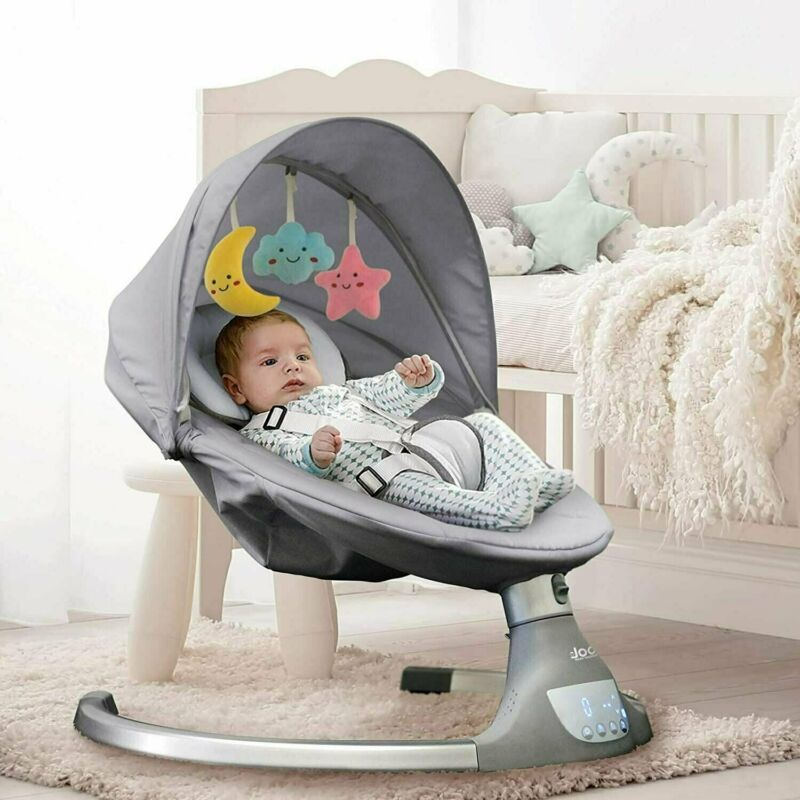 Nova Baby Swing - Bluetooth Speaker, Remote Control, Bouncer - Jool Baby