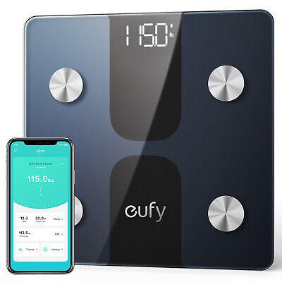 eufy Smart Body Fat Scale C1 Bluetooth Wireless Digital Bathroom 12 Measurements