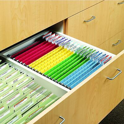 Hanging File Folder Frame Adjustable Heavy Rail Metal Desk For Cabinet Drawer