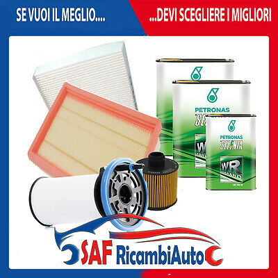 KIT TAGLIANDO FIAT 500X 1.6 e 2.0 DIESEL + OLIO MOTORE SELENIA FORWARD 0W30