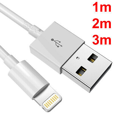 CABLE USB RENFORCE CHARGEUR RECHARGE SYNC POUR IPHONE 6 6S 5S SE 7 PLUS 8 X IPAD