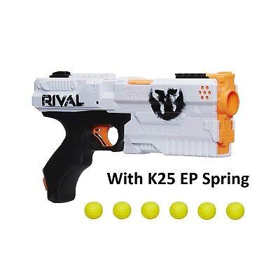 6 Shot Nerf SUPER PHANTOM KRONOS K25 Blaster Rival Spring Mod Upgrade