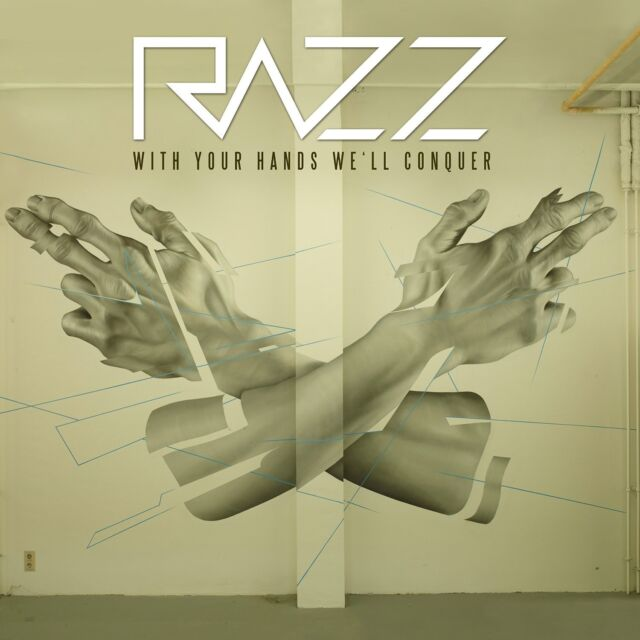 RAZZ - WITH YOUR HANDS WE'LL CONQUER  CD NEU