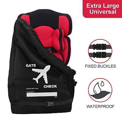 Waterproof Car Seat Travel Bag Gate Check Bag for Air Travel Makes Travel Easier