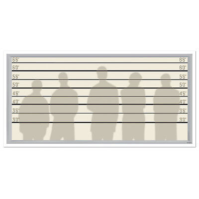 Mug Shot Background (Police Lineup Photography Backdrop Mug Shots Height Chart Photography)