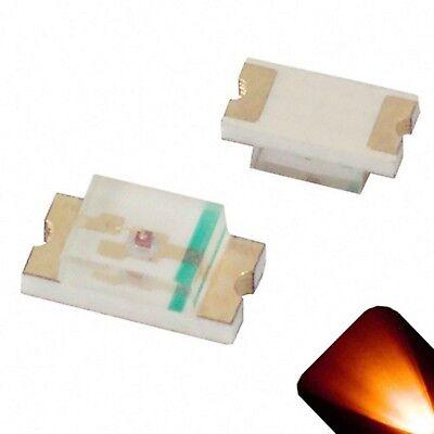 10 X Led 1206 Amber Orange Smd Leds Lights Super Ultra Bright Lamp Xbox Car Rc