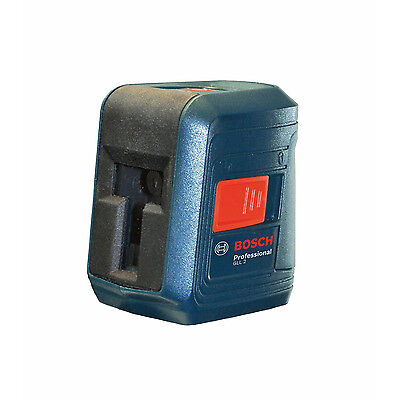 Bosch GLL2 Horizontal and Vertical Self-Leveling Cross-Line Laser Level