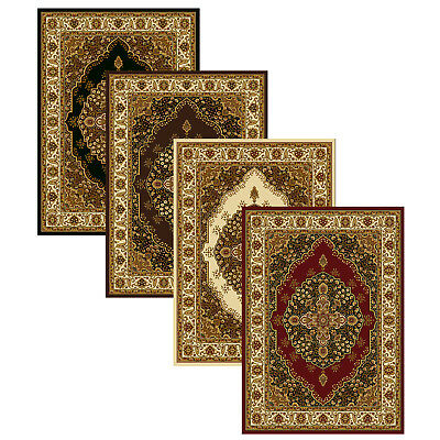 Medallion Floral Area Rug 5x8 Oriental Border Persien Carpet