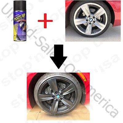 Plasti Dip Spray Coating Rims Cars Protect Multi Purpose Aerosol Performix Black