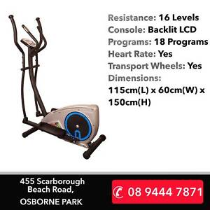 Go30 Compact Cross Trainer, Great Workout!  12 Month Warranty