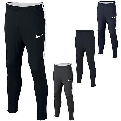 (Nike Boys Pants Junior Football Training Tracksuit Bottoms Kids Size S M L XL)