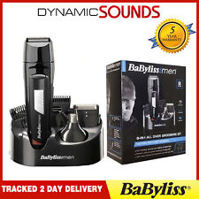 Babyliss Men 8 IN 1 Grooming Kit Cordless Body Hair Clipper Beard Trimmer 7056CU