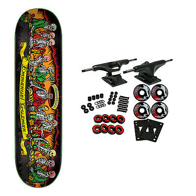 Santa Cruz Skateboard Complete Guzman Dining With the Dead 15y Powerply 8.27""