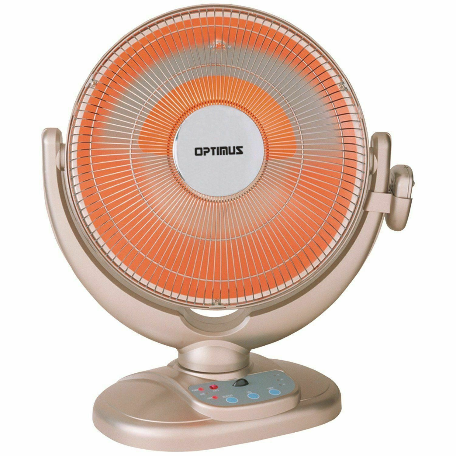 "Optimus H-4438 14"" Oscillating Radiant Space Heater"