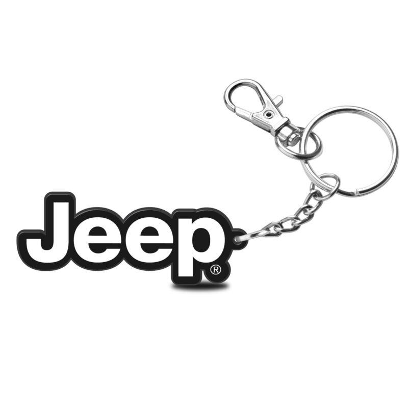 Jeep Custom Laser Cut with UV Full-Color Printing Acrylic Charm Key Chain