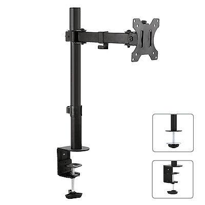 Tischhalterung Monitorarm 360° Monitor Kabelkanal MC-752 Lebenslange Garantie