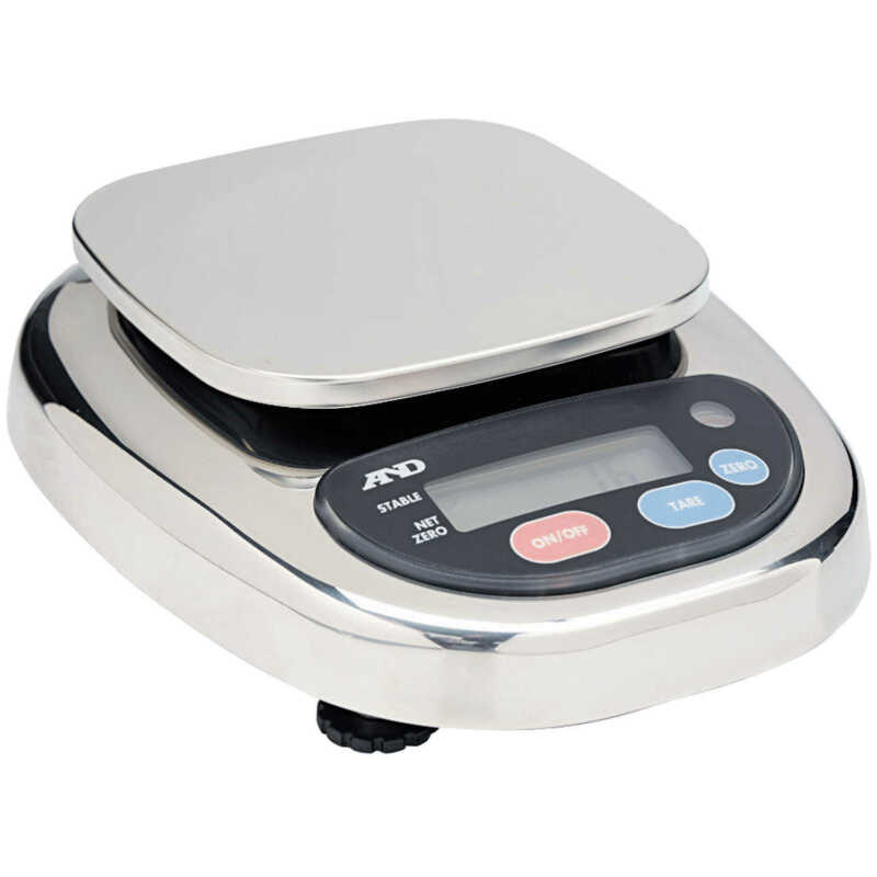 A&D Weighing HL-WP Washdown Scale 300g