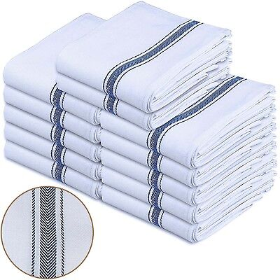 Utopia Towels 12- Pack White 100% Cotton Kitchen Towels 15 x
