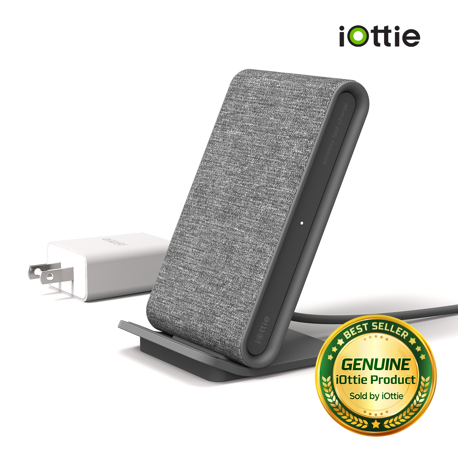ion wireless fast charging stand charger qi