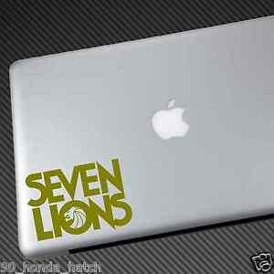 Seven Lions Vinyl Sticker Car Decal Laptop Shirt Cd Hat