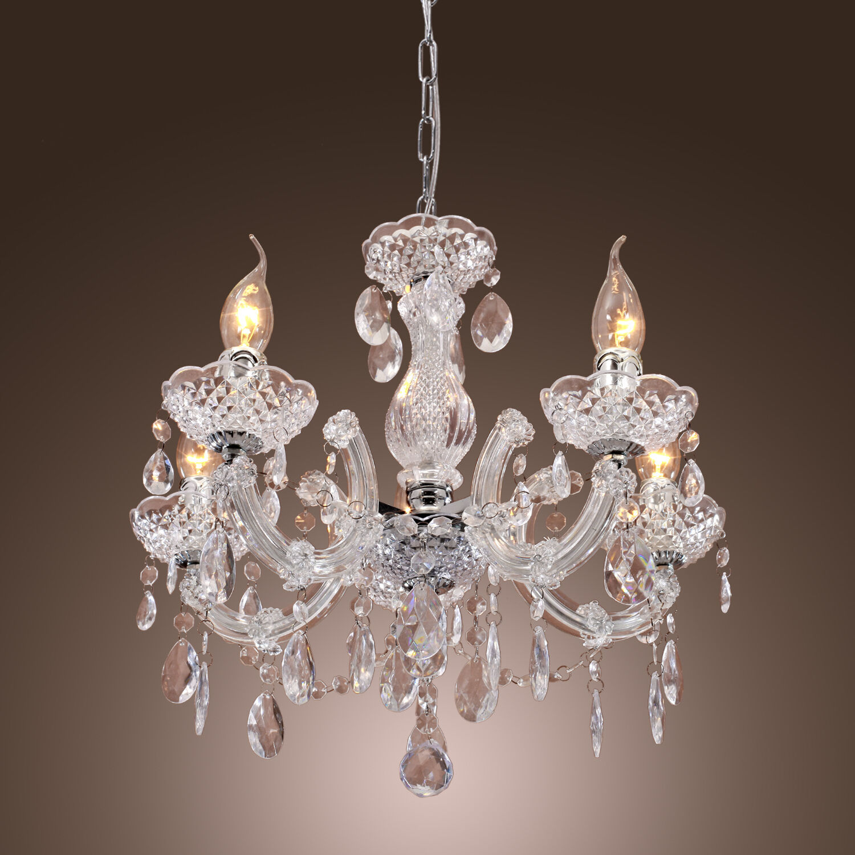 Modern Crystal Chandelier Ceiling Lamp Pendant Light