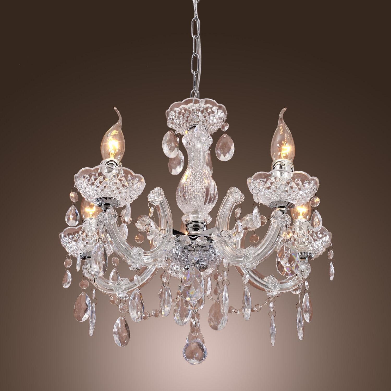 Crystal Chandeliers: Modern Crystal Chandelier Ceiling Lamp Pendant Light
