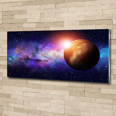 Glas-Bild Wandbilder Druck auf Glas 125x50 Deko Weltall & Science-Fiction Nebel