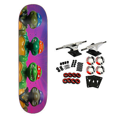 Santa Cruz Skateboard Complete Teenage Mutant Ninja Turtles Figures Everslick
