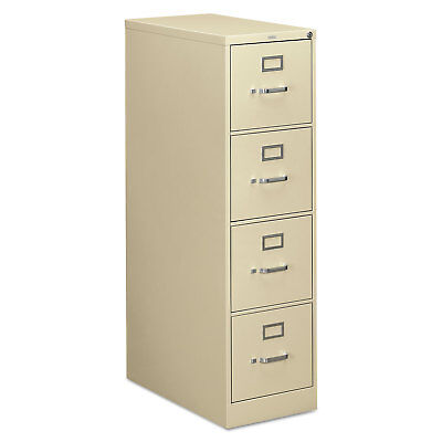 - HON 310 Series Four-Drawer Full-Suspension File Letter 26-1/2d Putty 314PL