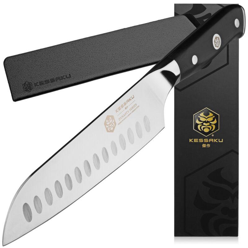 Kessaku Santoku Knife - Dynasty Series- German HC Steel - G10 Full Tang, 7-Inch