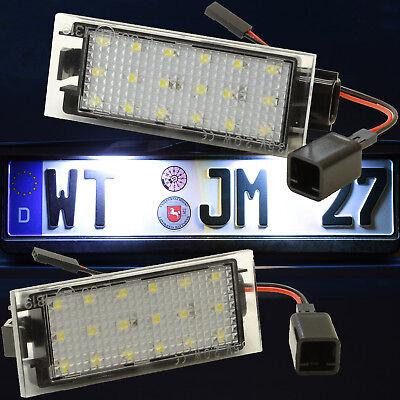 LED Kennzeichenbeleuchtung für DACIA Logan I + II | Sandero II [71601]