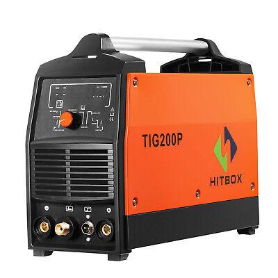Hitbox Tig Welder 200a With Pulse Dc Hf 220v Mma Welding Machine 3 In 1 Welding