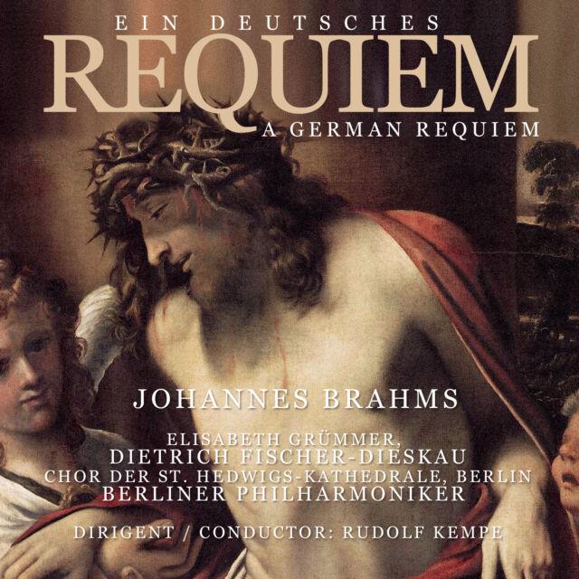 CD Ein Deutsches Requiem German Requiem von  Johannes Brahms Dir.Rudolf Kempe