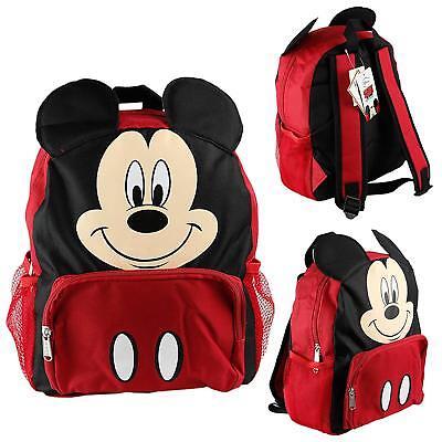 Disney Mickey Mouse Kids Toddler Backpack School Bookbag Boys 12