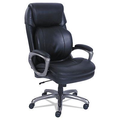 SertaPedic Cosset Big and Tall Executive Chair Black 48964 Big And Tall Executive Chair