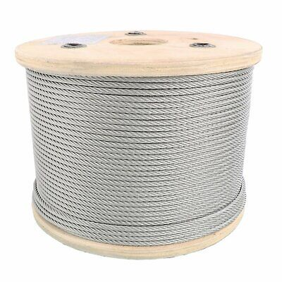 316 Stainless Steel Aircraft Cable Wire Rope 7x19 Type 304