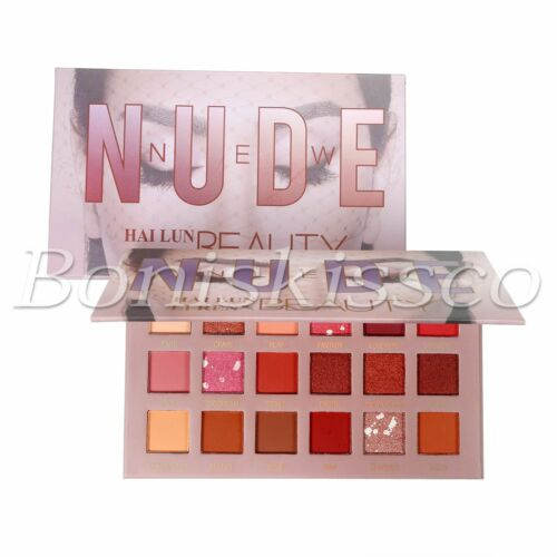 18 Colors Eyeshadow Palette Matte Shimmer Gliter Warm Tone P