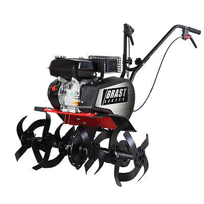 BRAST Benzin Ackerfräse AF6000 Motorhacke Gartenfräse Bodenfräse 4,8kw(6,5PS)