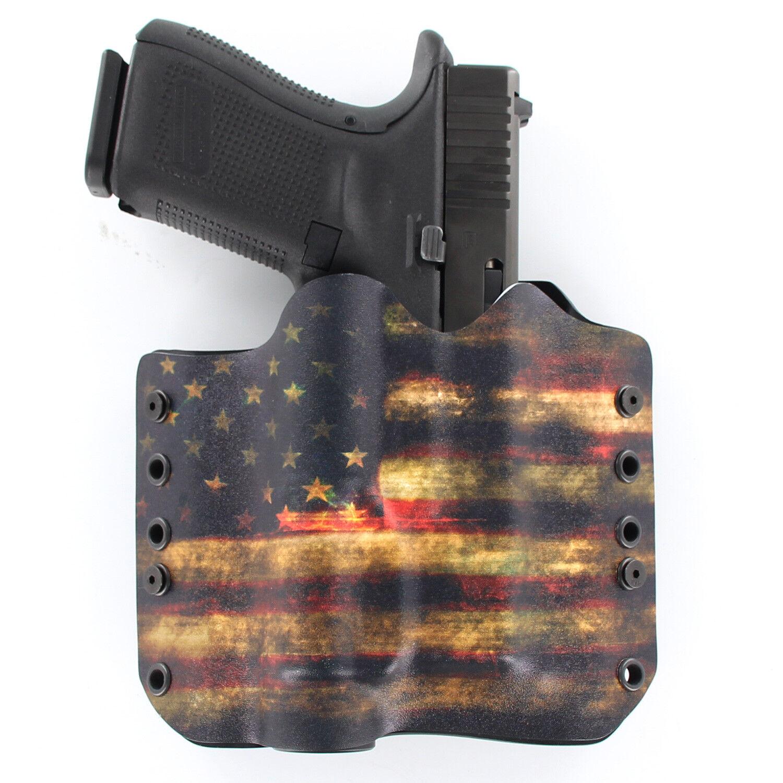 Black Kydex Holster for Glock 17 22 Threaded Barrel Surefire X300 Ultra B Model