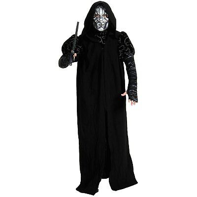 Death Eater Harry Potter Hooded Robe Fancy Dress Up Halloween Child Costume