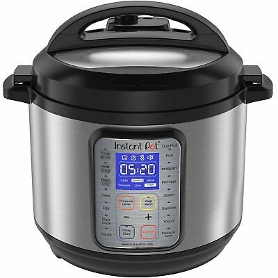 Instant Pot DUO Plus 6 Qt 9-in-1 Pressure Cooker Rice Egg Cooker Yogurt Maker